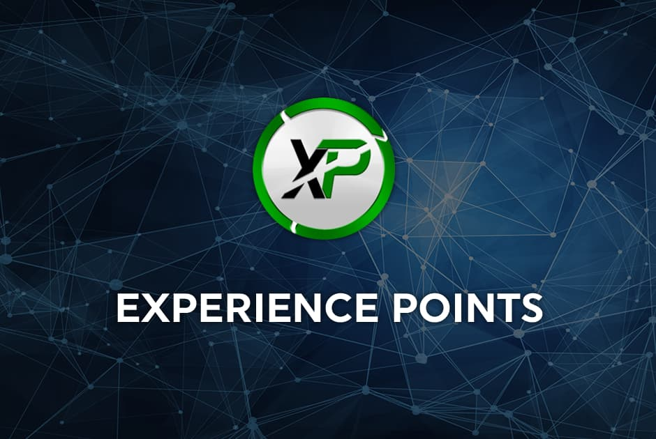 EXPERIENCE POINTS available to trade!