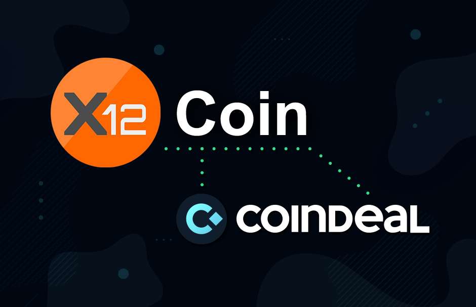 X12 on CoinDeal!
