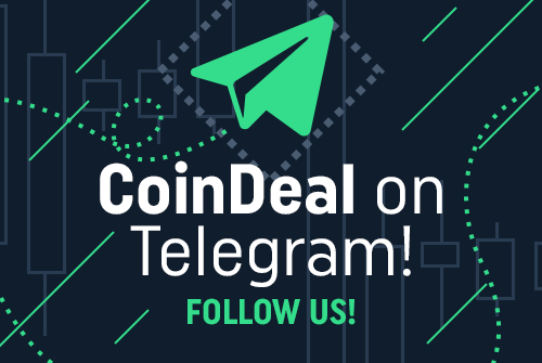 Coindeal's Telegram community is growing! Join us!