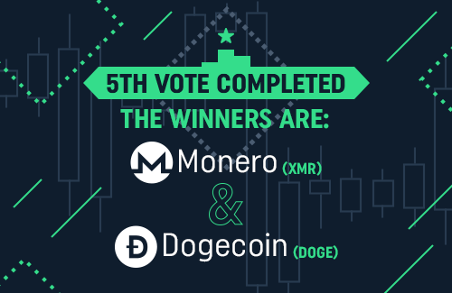 Results of 5th voting - Monero and Dogecoin!
