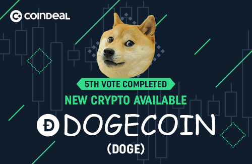 Dogecoin is available on CoinDeal!