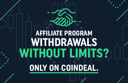 CoinDeal's Affiliate program payouts!