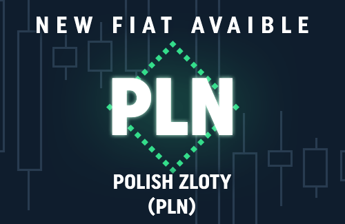 New fiat currency on CoinDeal - PLN!