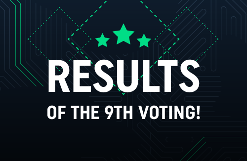 Results of the 9th voting!