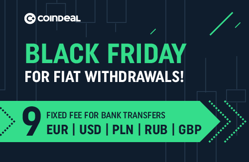 Black Friday Madness On CoinDeal