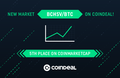 New market for BCHSV!