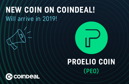 Proelio Listing Announcement
