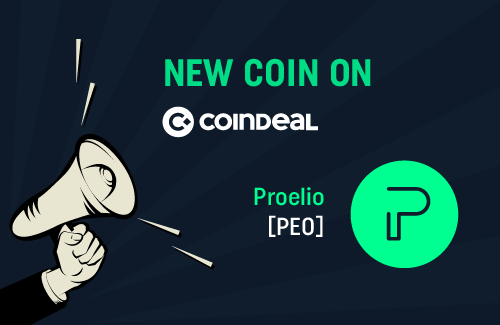 Proelio is available on CoinDeal!