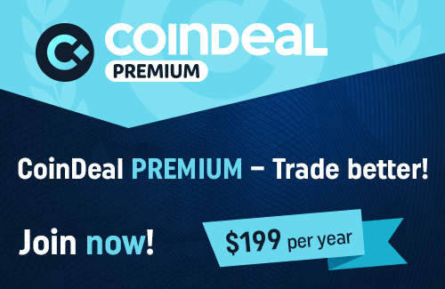 Join CoinDeal Premium!