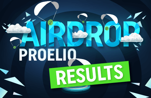 Results of PEO airdrop