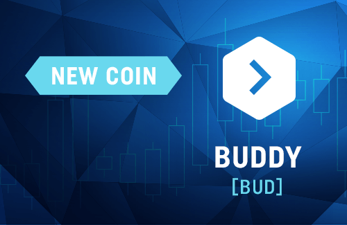 Buddy is on CoinDeal now!