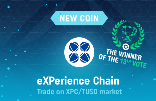 eXPerience Chain is available on CoinDeal!