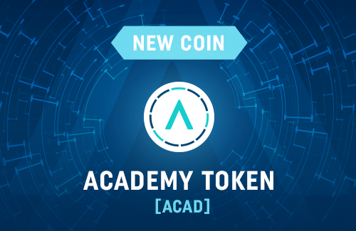 Academy Token joins CoinDeal!