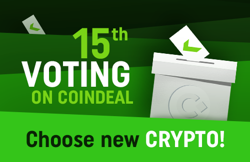 15th voting on CoinDeal