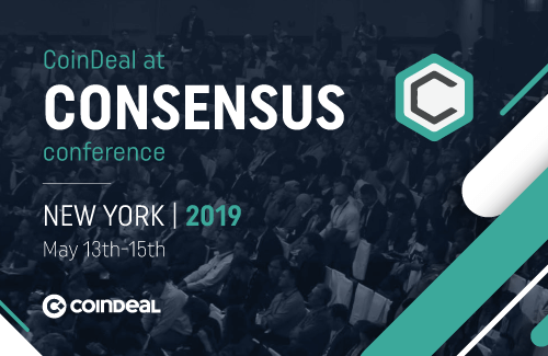 Meet us at Consensus in New York!
