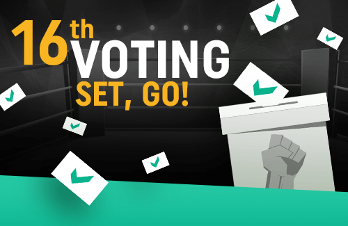 The 16th edition of the vote on CoinDeal - SET, GO!