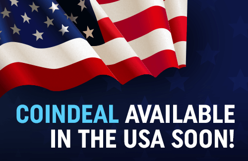 CoinDeal available in the USA soon!