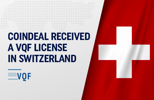 CoinDeal with Swiss VQF license