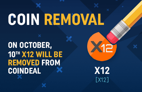 Attention X12 holders!