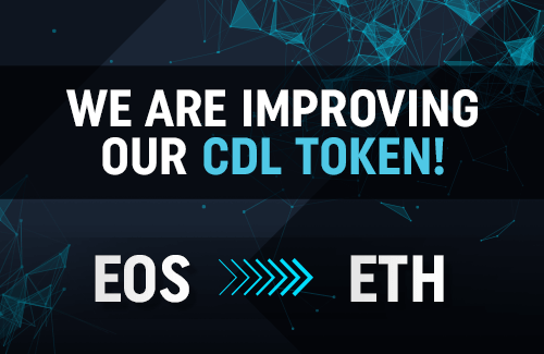 CDL Token is switching from EOS to Ethereum