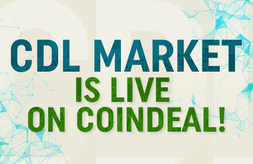 Let's welcome CoinDeal Token!