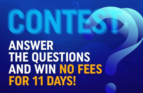 Win free transactions!