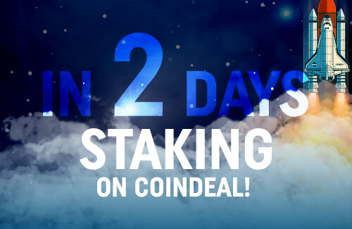 Staking available in two days!